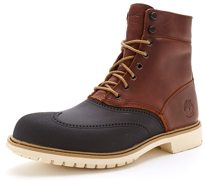 timberland stormbuck waterproof 6 inch leather duck boots