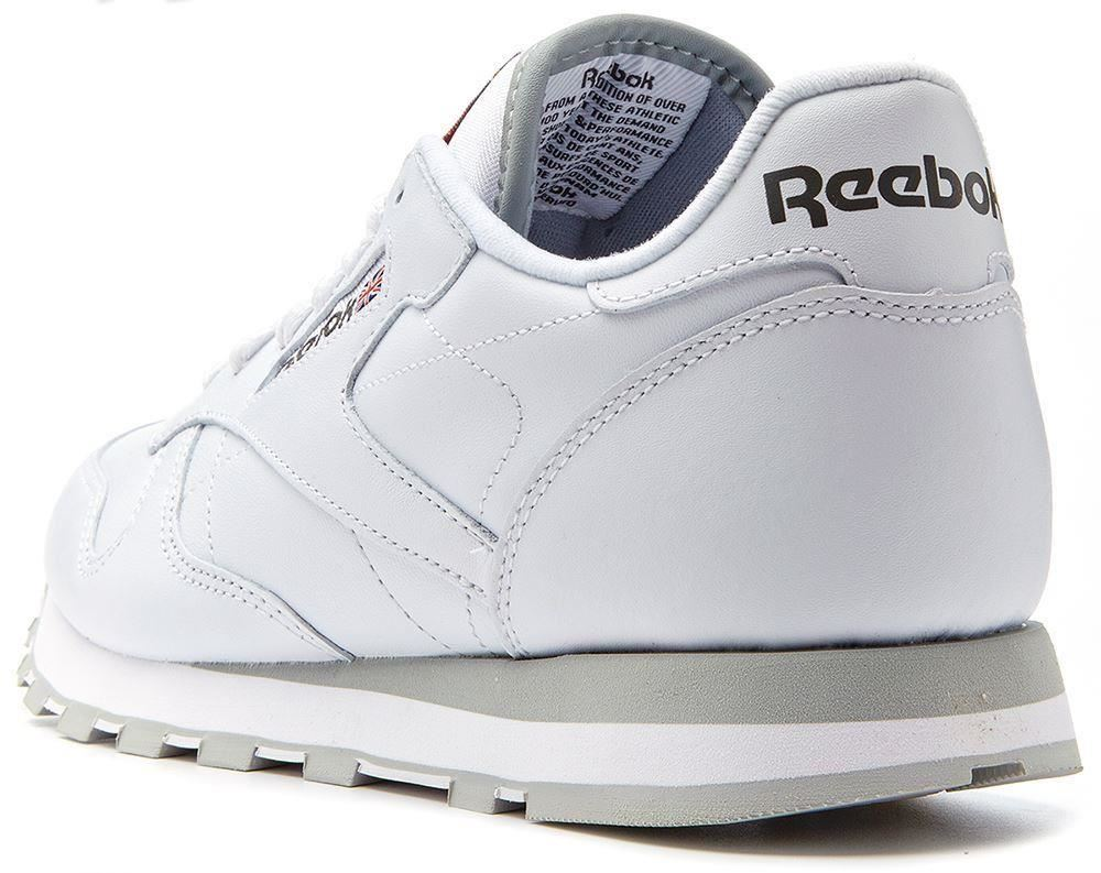 reebok classic leather retro trainers in white 2214 ebay. Black Bedroom Furniture Sets. Home Design Ideas