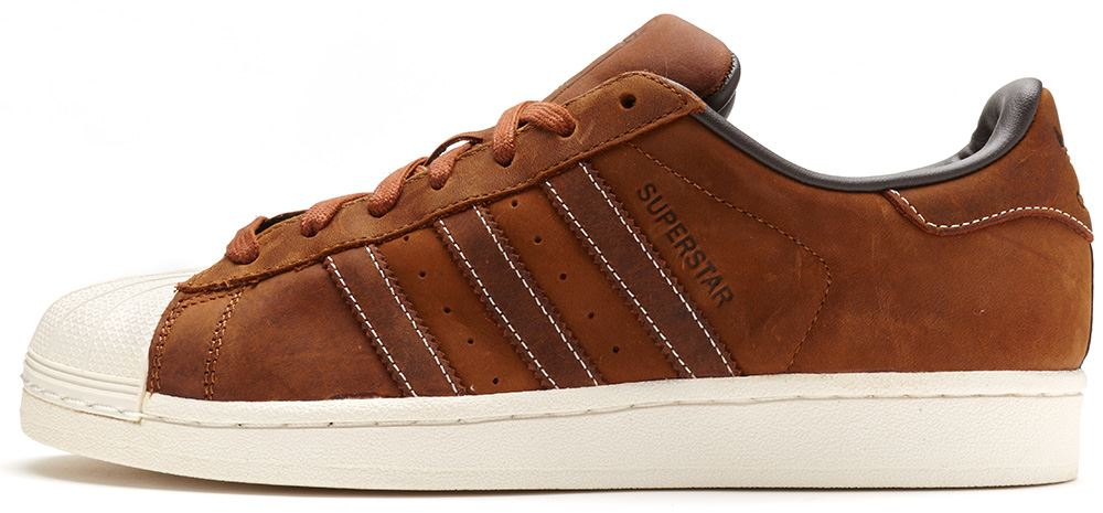 cheap adidas superstar brown leather over 50 discount. Black Bedroom Furniture Sets. Home Design Ideas