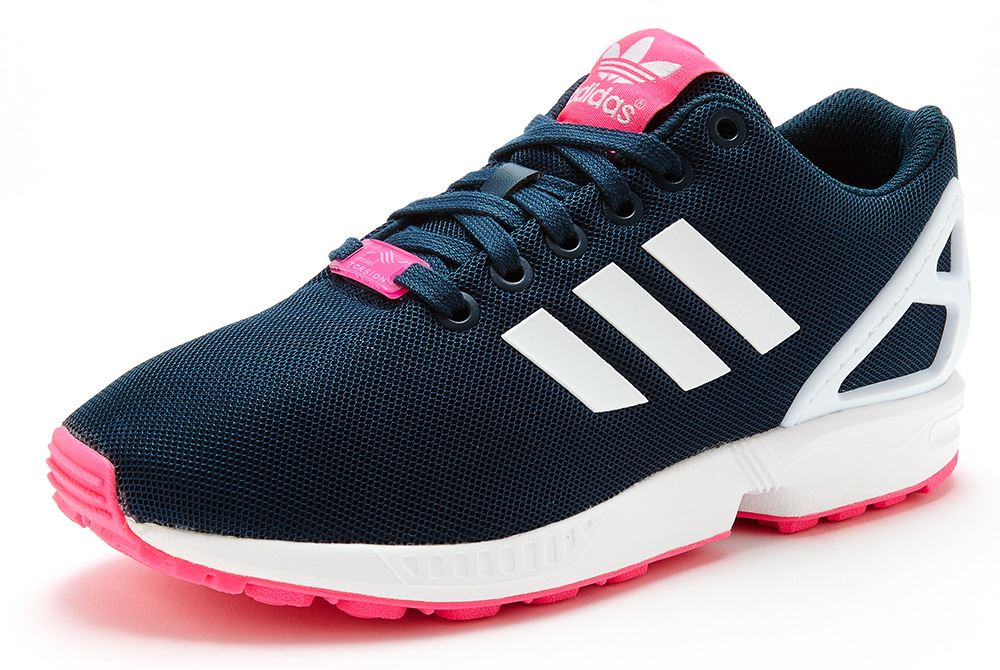 premium selection 9e9e8 74f22 Adidas Zx Flux Womens Pink