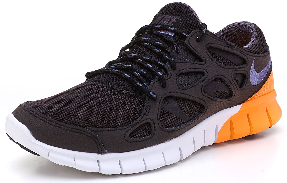 c70ec6f485fa nike free run 2 black orange