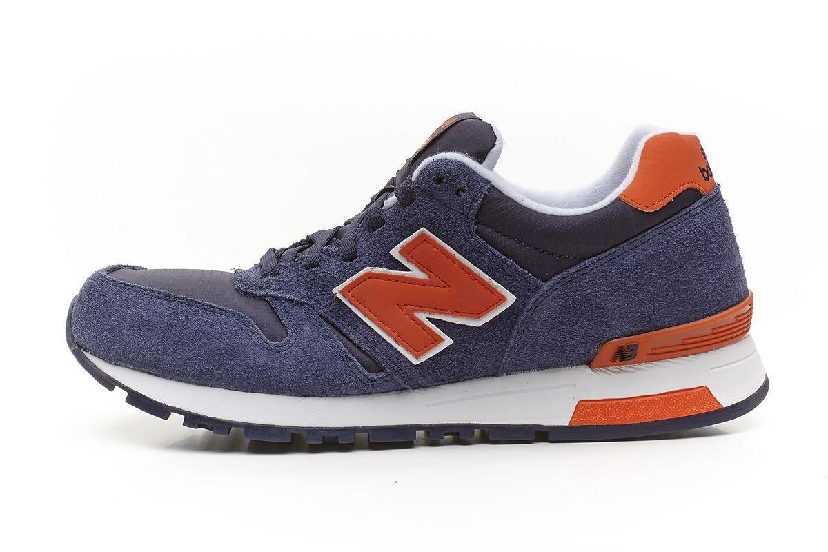 new balance 565 azul naranja