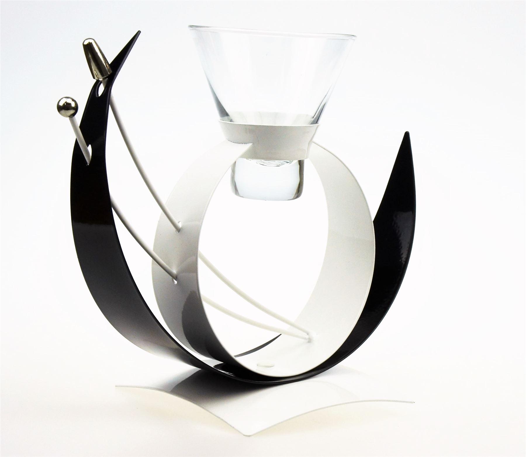 Glass Centerpiece Vase With Tea Light Holders : Candle tea light holder candlestick flower vase glass