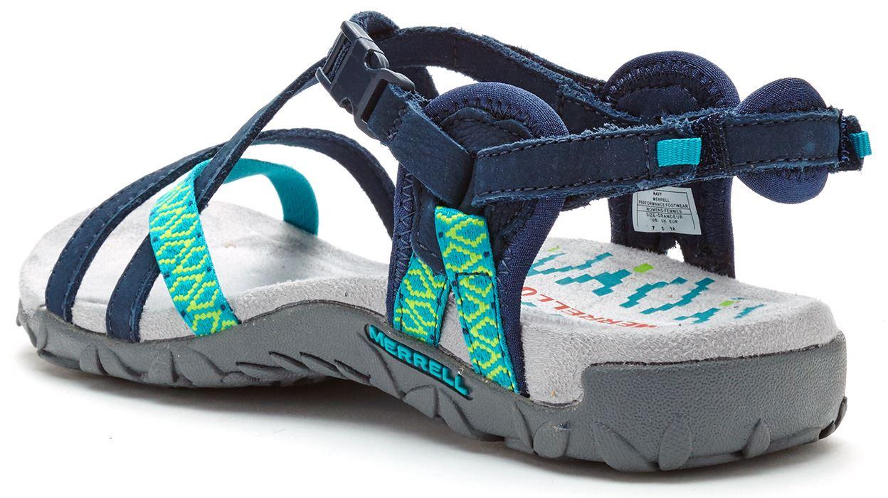 Merrell Terran Lattice Ii Women Sandals In Navy Amp Aqua