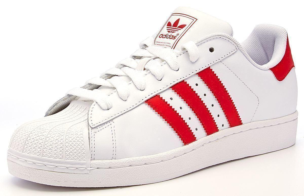 adidas superstar 2 red