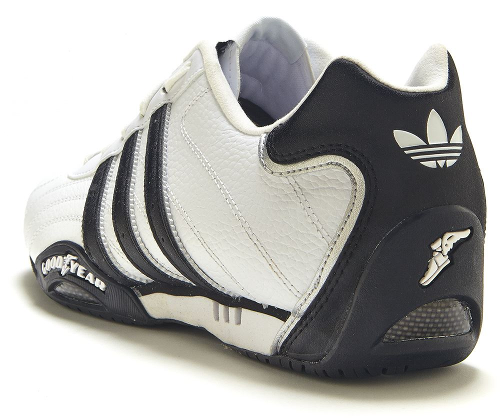 Details about Adidas Originals: Goodyear Adi Racer Low Trainers, White G16080