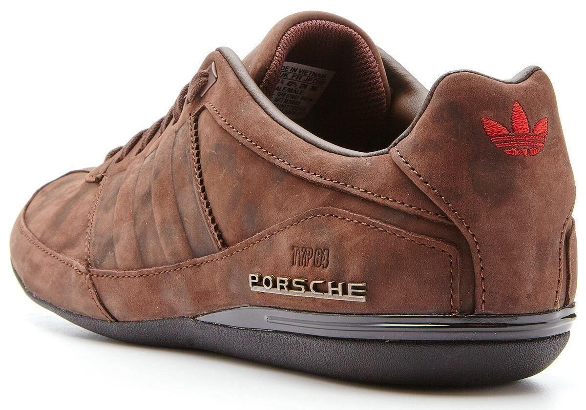 pretty nice 6887e b2a35 adidas brown suede sneakers