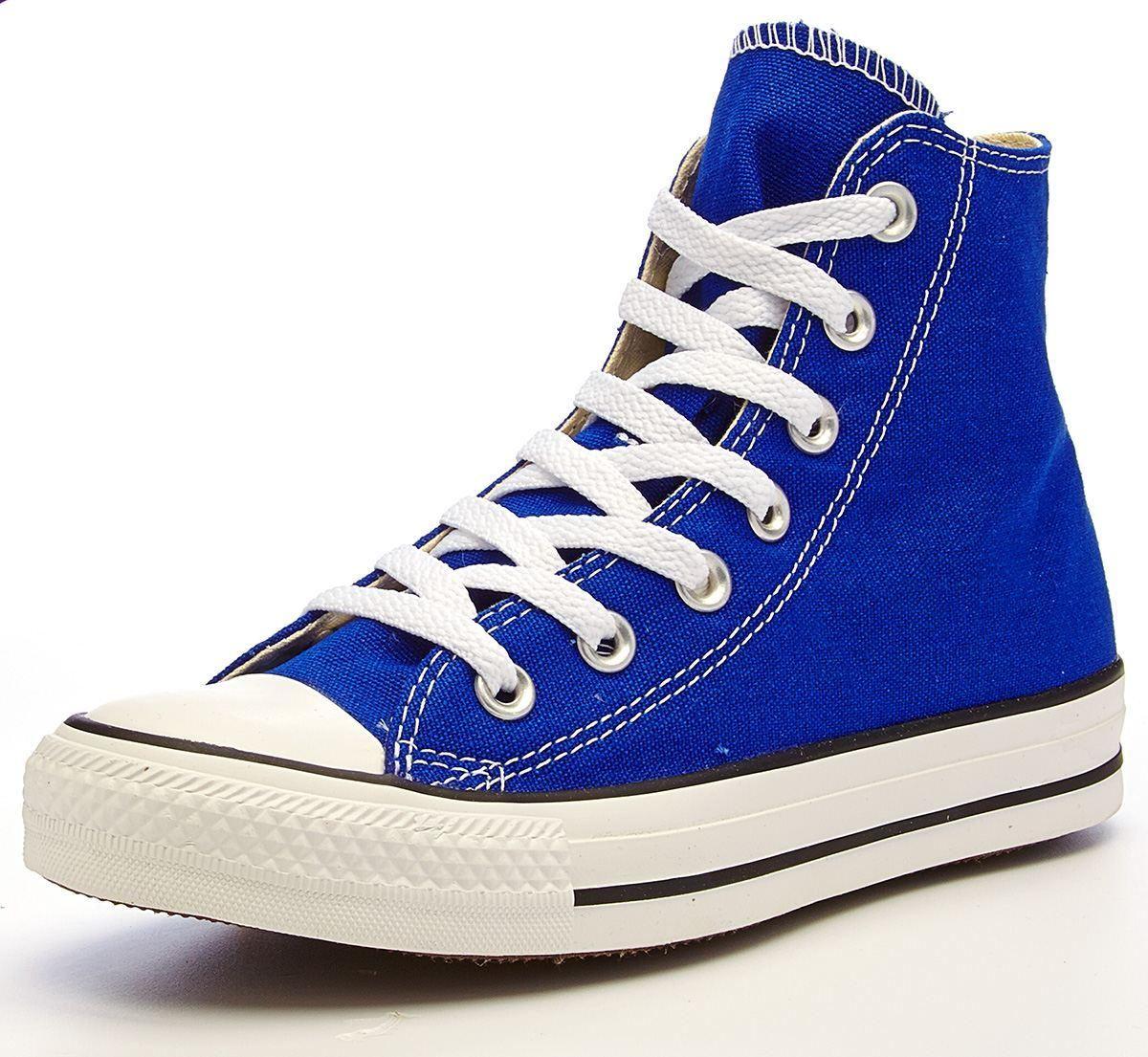 2all star converse blu elettrico