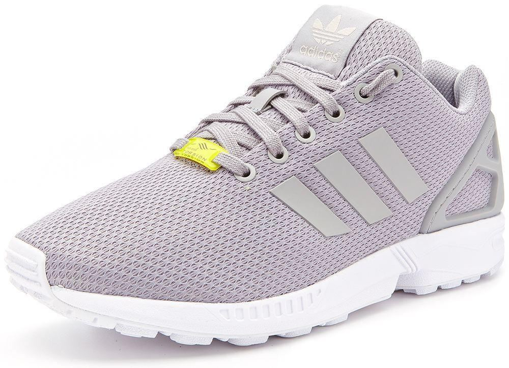 adidas zx flux retro running trainers grey m19838 ebay. Black Bedroom Furniture Sets. Home Design Ideas