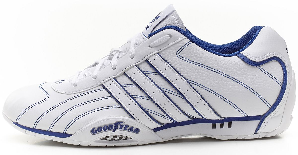 adidas originals goodyear adi racer low trainers white blue g95178 ebay. Black Bedroom Furniture Sets. Home Design Ideas