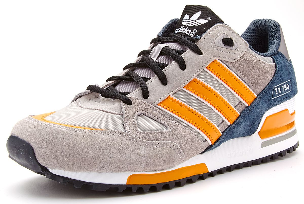 adidas originals herren zx 750 sportschuhe grau orange. Black Bedroom Furniture Sets. Home Design Ideas