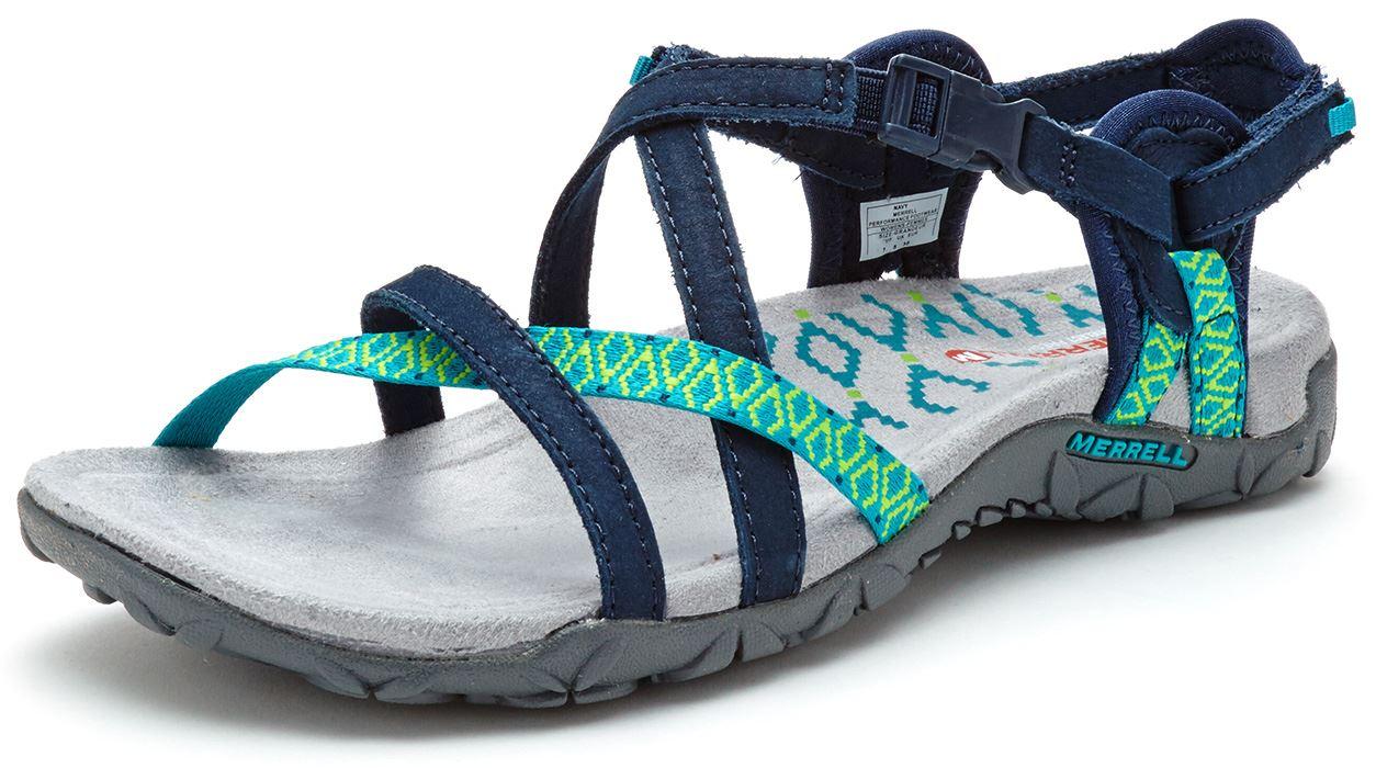 829c9e8ab0ac Merrell Sandspur Terran Lattice   Cross Women Sandals in Leather All ...