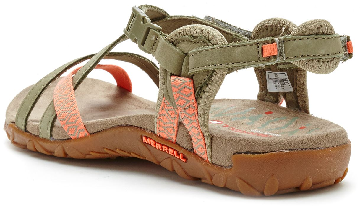 1793ab521cb5 Merrell Sandspur Terran Lattice   Cross Women Sandals in Leather All ...