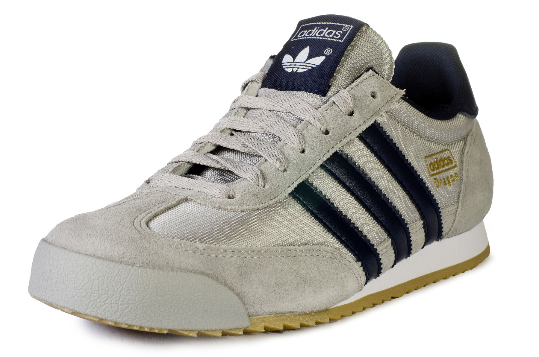 adidas dragon mens trainers navy