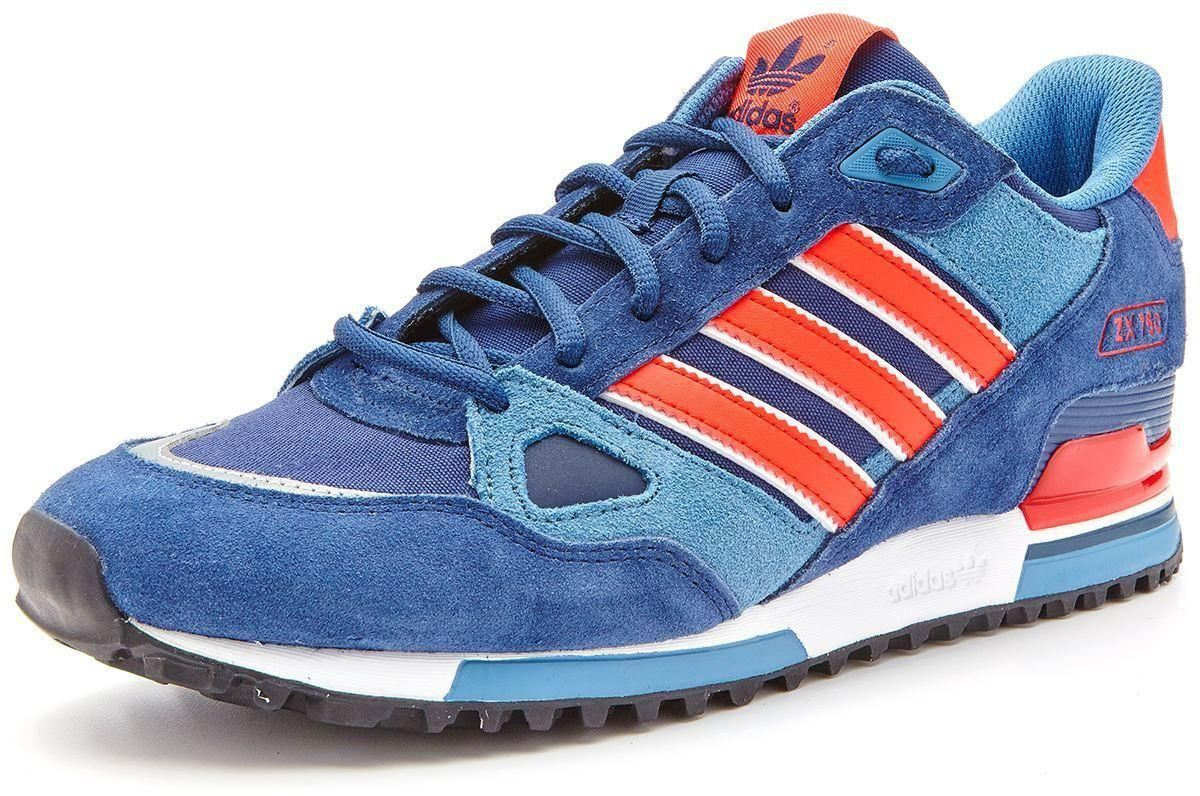 new arrival 29d05 57dae ... clearance click thumbnails to enlarge adidas originals men s zx 750  trainers navy 90545 c5fea