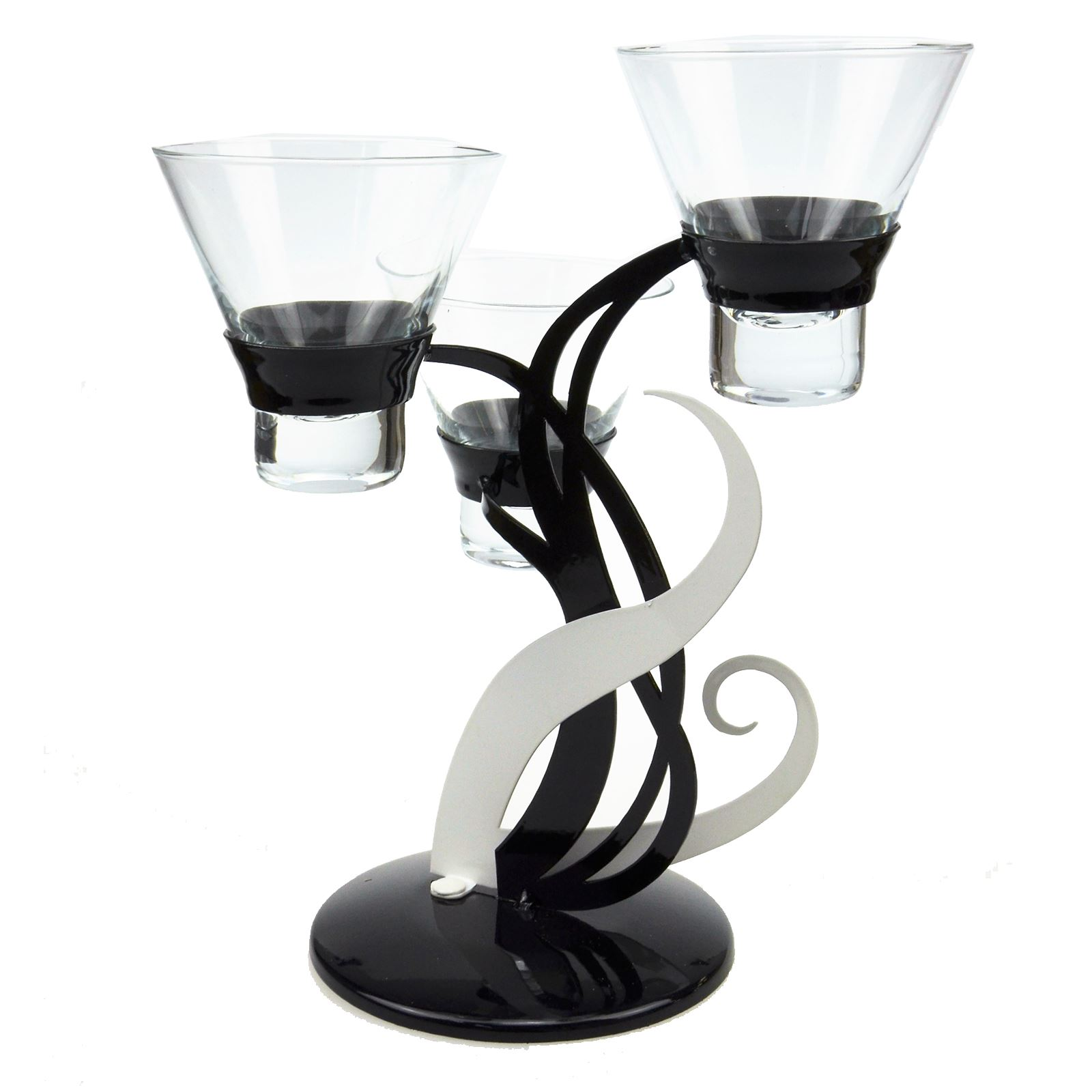 Candle holders to accessorize your home. Our range of candle holders makes accessorizing your home affordable, fun and easy. Place some sleek and stylish glass candle holders on a wall shelf, or group some colorful tealight holders on the window sill.