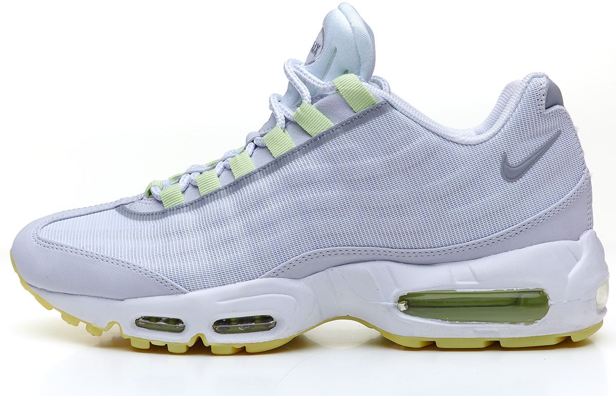 cfjsy Nike Air Max 95 glow in the dark Tape white trainers 599425 103 | eBay