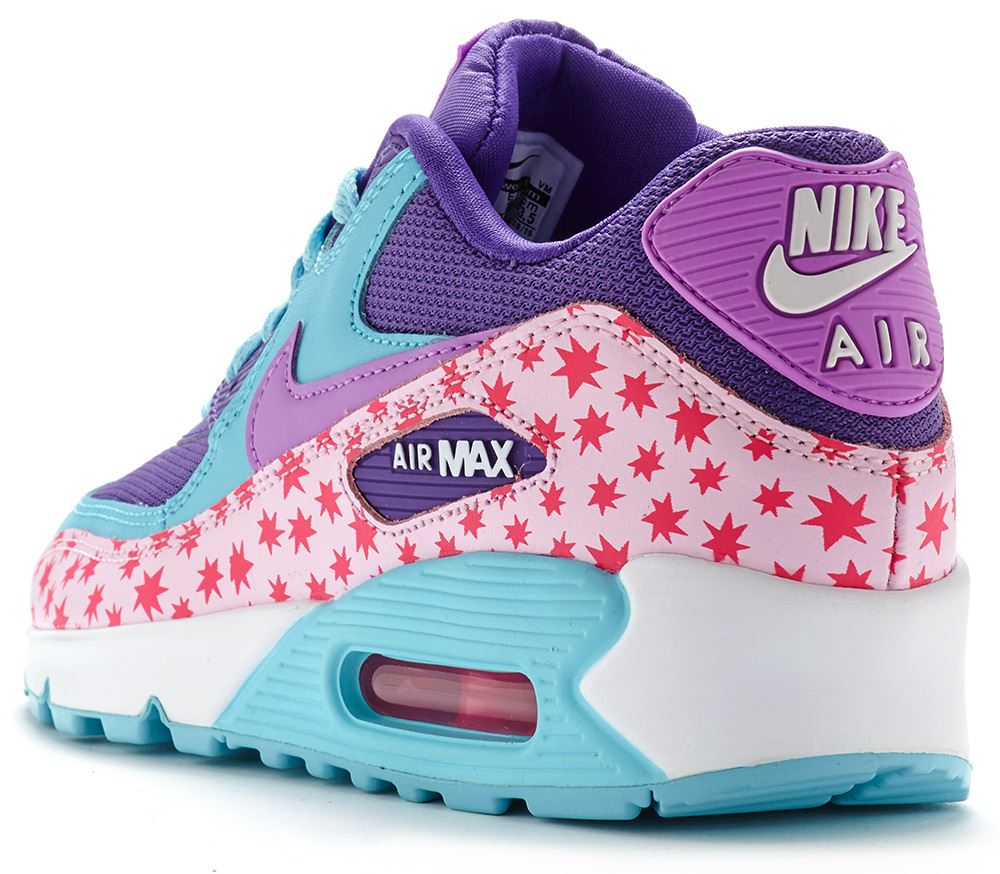 Nike-Air-Max-90-GS-Fashion-Leather-Glow-