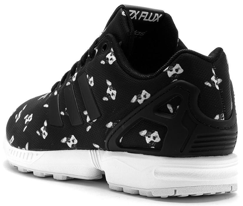 2017 Authentisch Adidas ZX Flux W Schuhe bulldog 873322