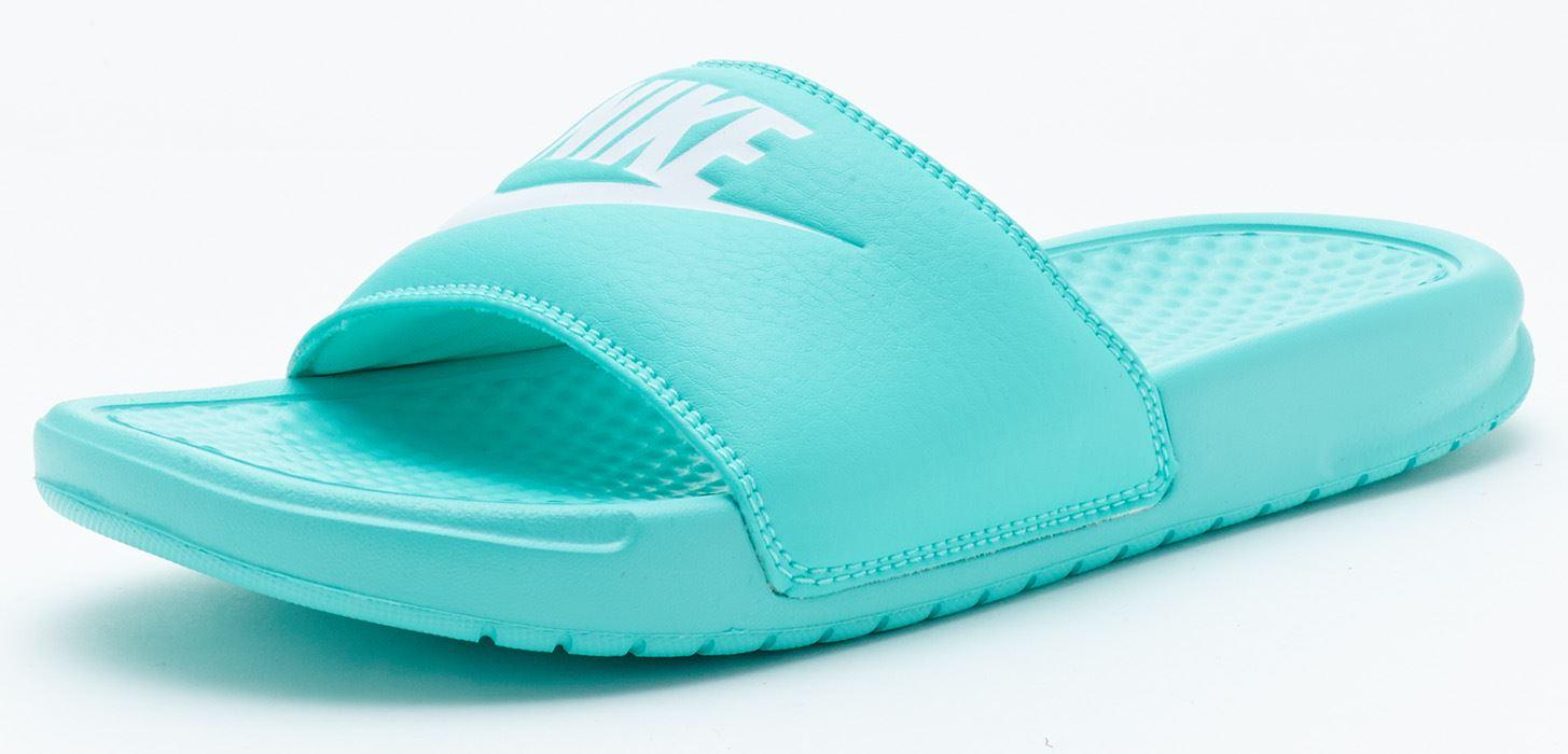 Excellent Buy Nike Benassi JDI  Womens Slides  BlueBlack  SlashSport