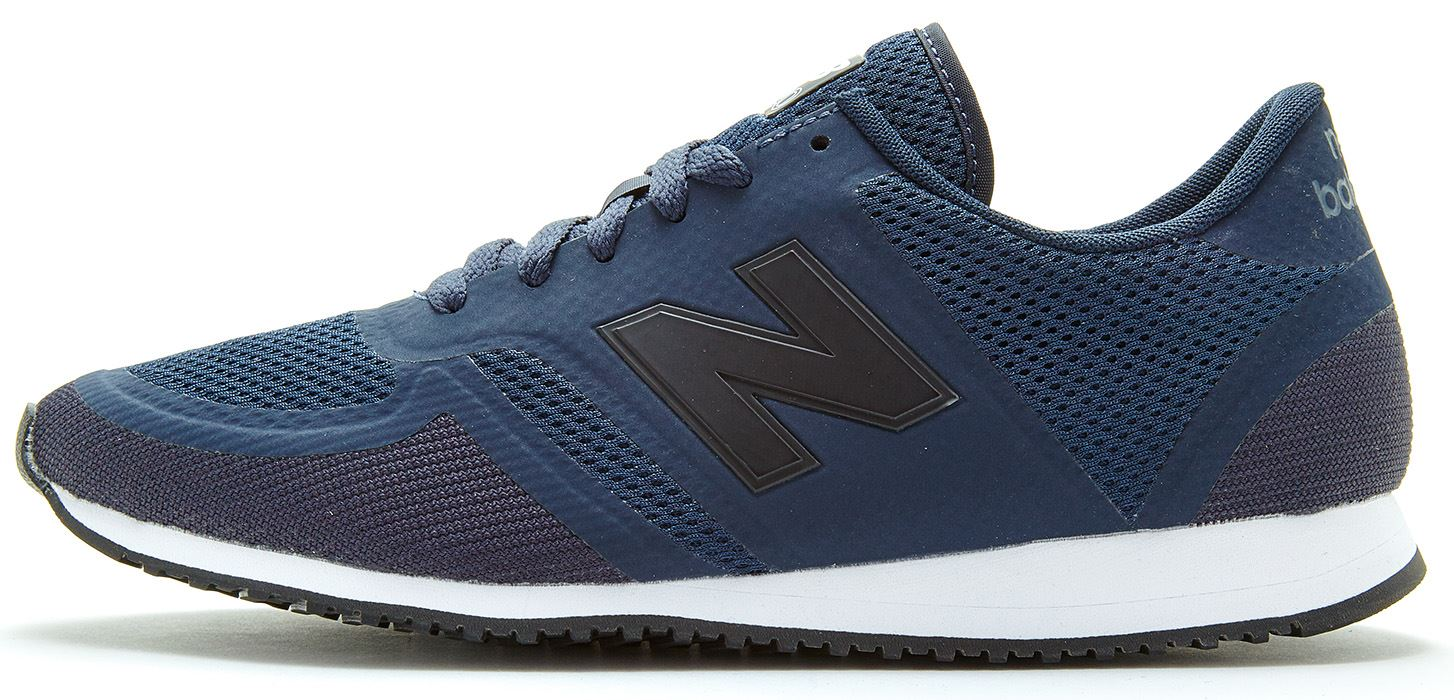 new balance 420 classic trainers in dark blue u420 dan. Black Bedroom Furniture Sets. Home Design Ideas