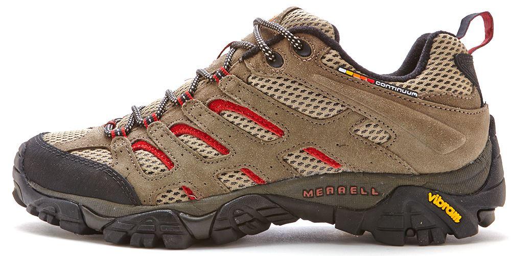 Merrell Moab Ventilator chaussures pour homme couleur gris et rouille J87731