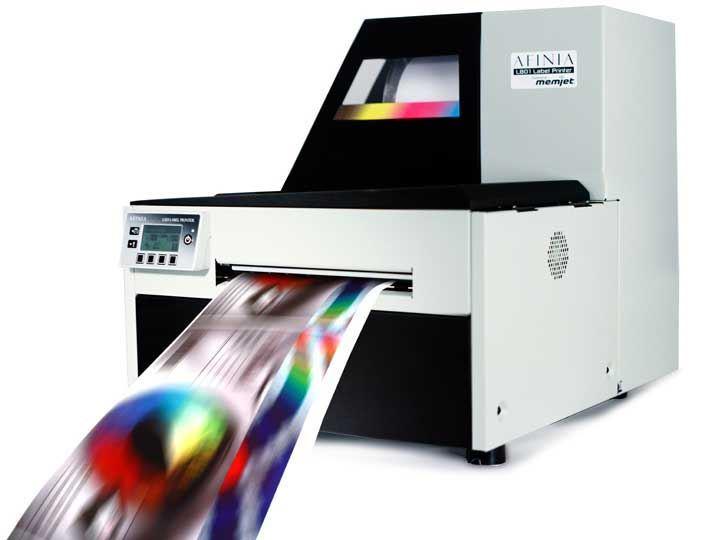 afinia l801 high speed memjet color label printer color label