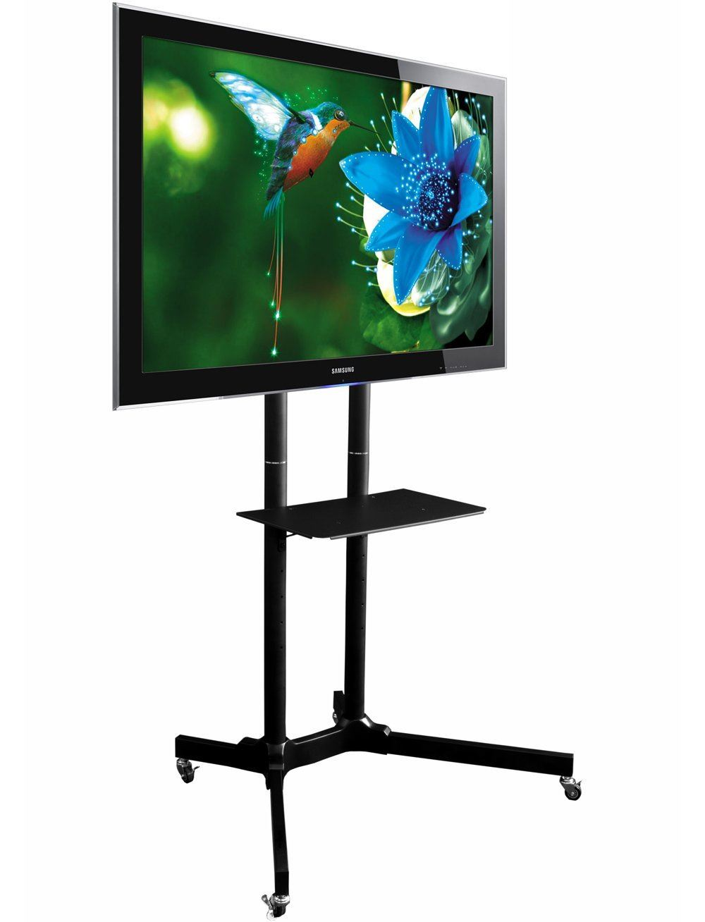 Exhibition Stand With Tv : Fs tt series retail display stand for quot to