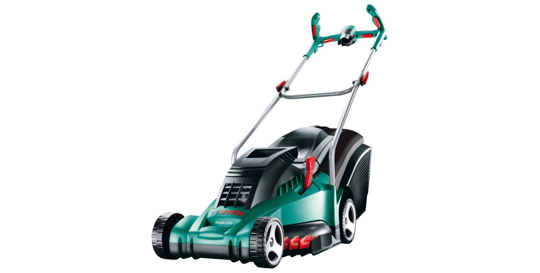 bosch rotak 370 er 430 er ergoflex electric corded rotary lawnmower trimmer ebay. Black Bedroom Furniture Sets. Home Design Ideas