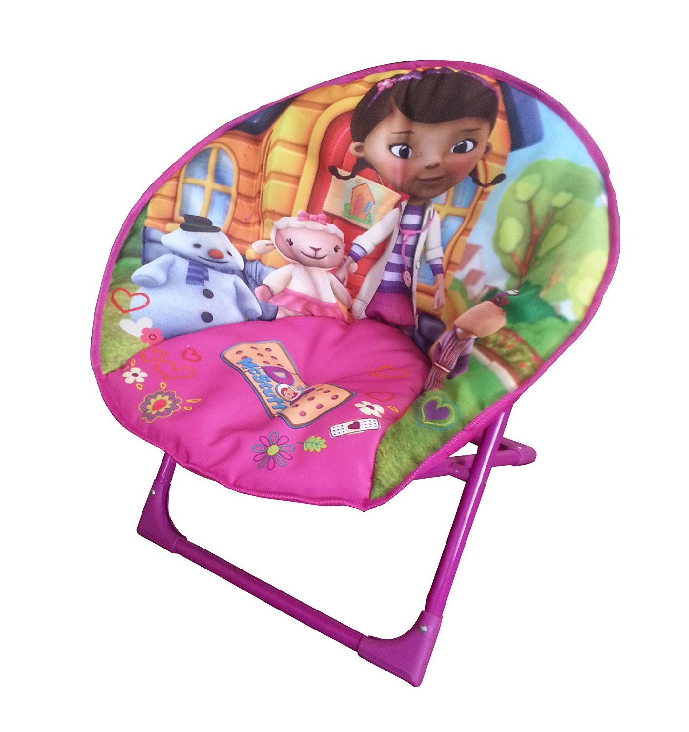 disney moon chair different models folding round soft padded chair for toddlers ebay. Black Bedroom Furniture Sets. Home Design Ideas