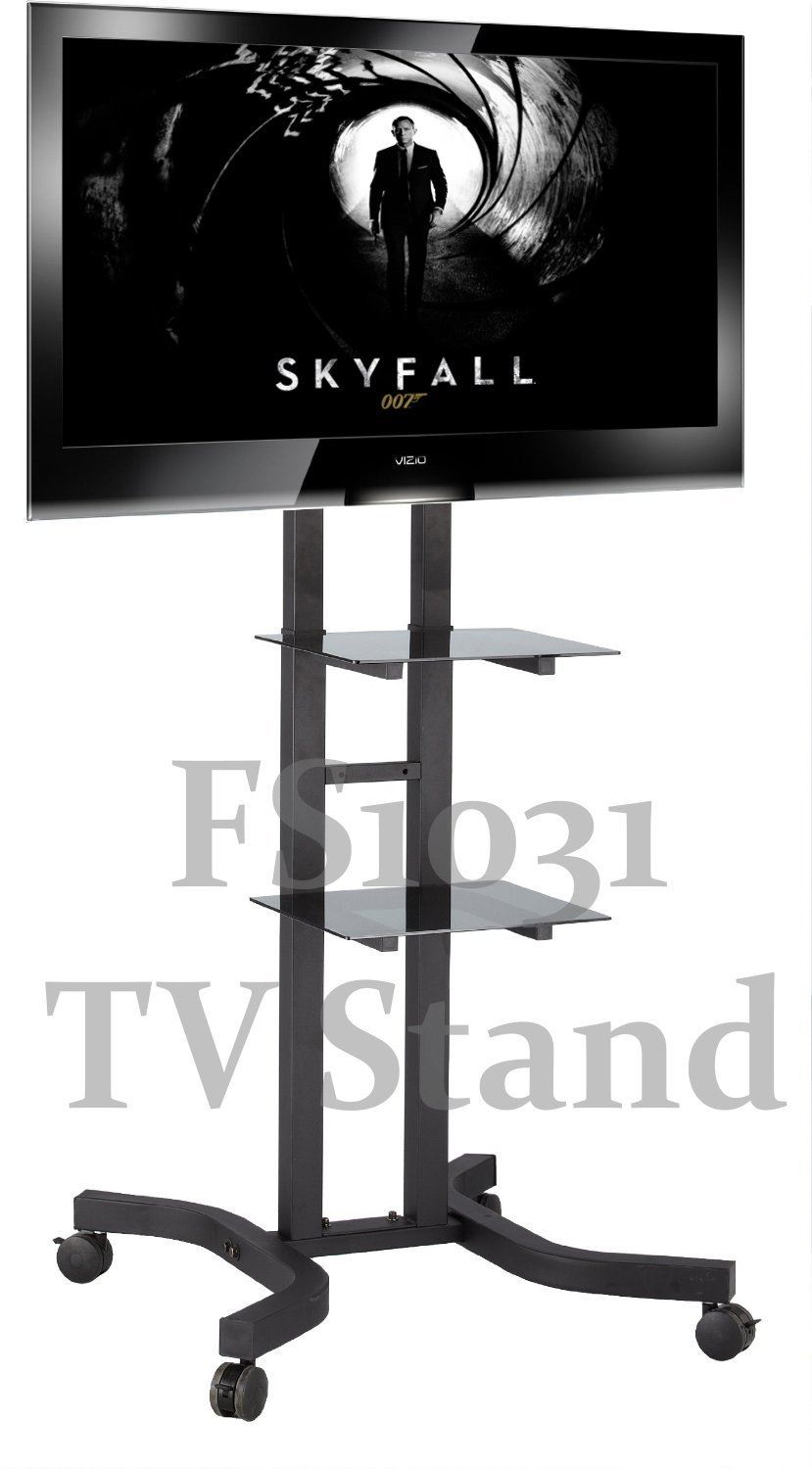 Exhibition Stand With Tv : Fs series tv trolley stands exhibition display mount