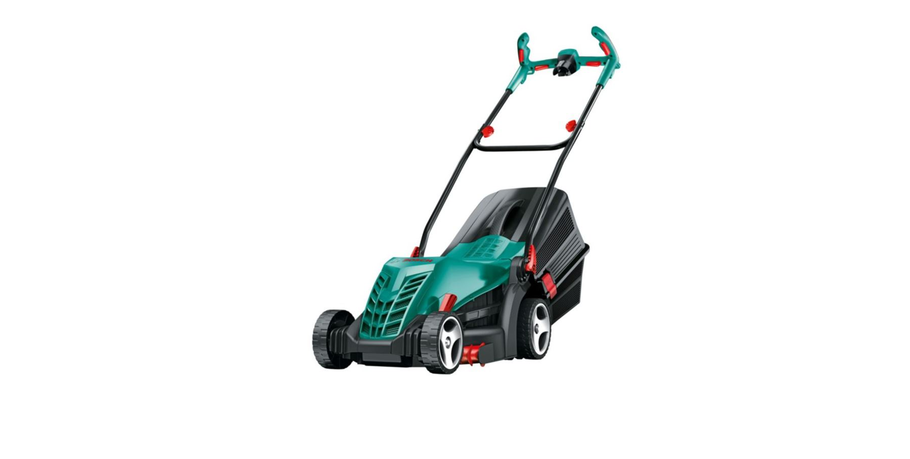 bosch rotak 370 er 430 er ergoflex electric corded rotary lawnmower trimmer. Black Bedroom Furniture Sets. Home Design Ideas