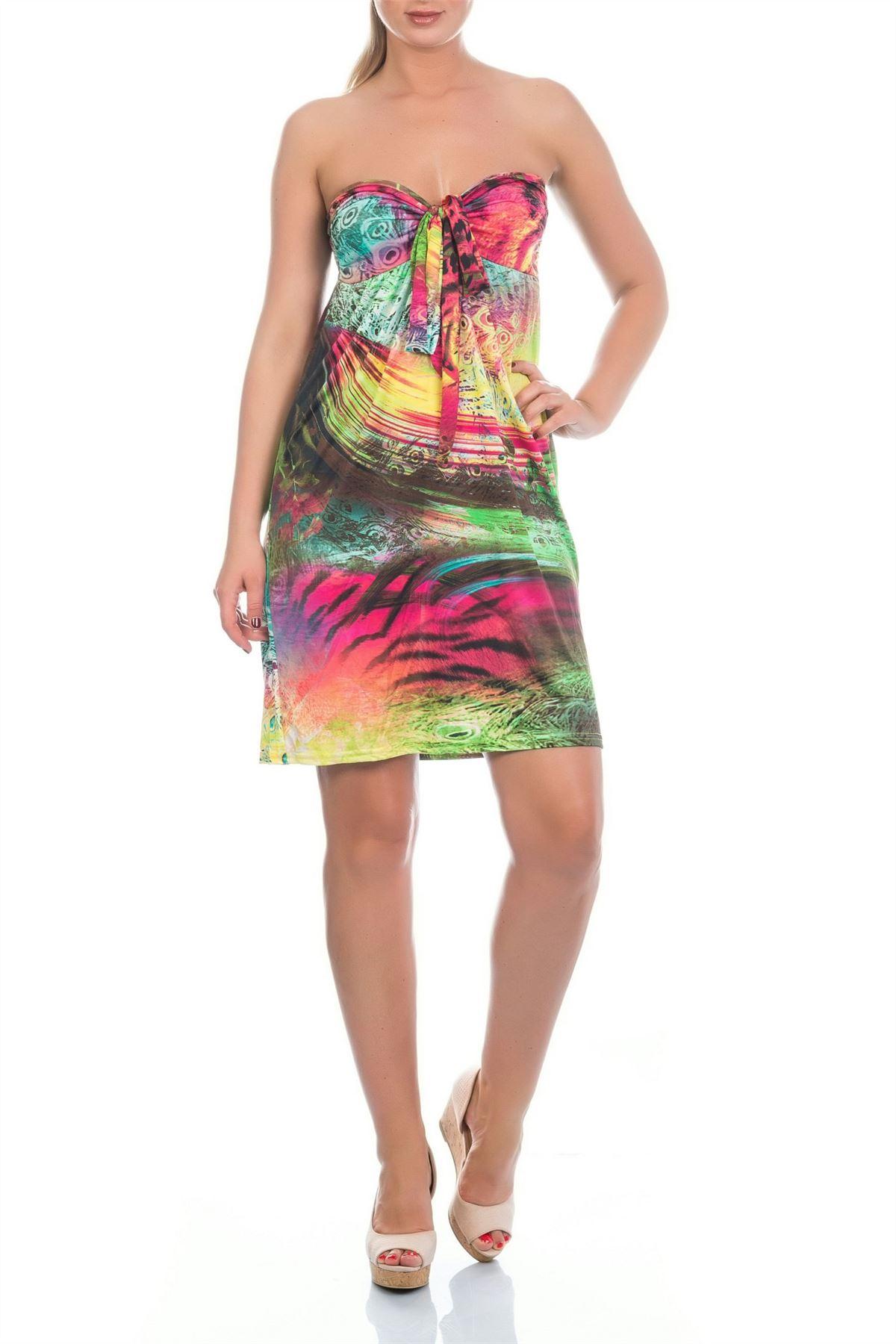 Martildo Womens Ladies Tropical Short Holiday Summer ...