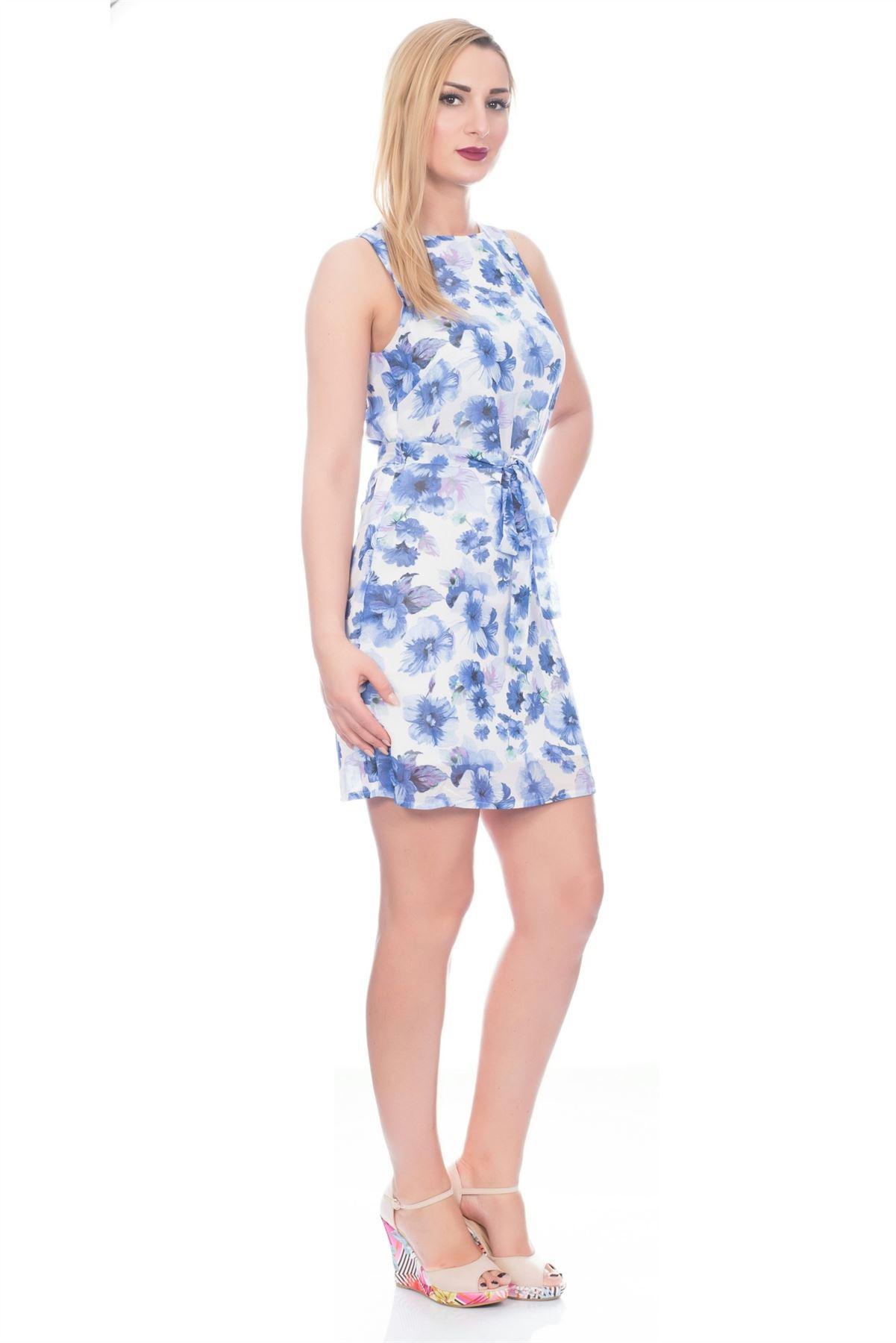 Ladies Short Lined Dress Light White Blue for Prom Wedding ...