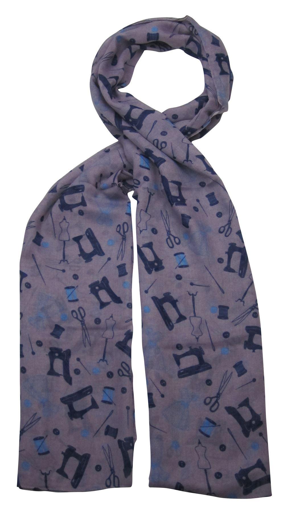 winter novelty print fashion neck scarf scarves