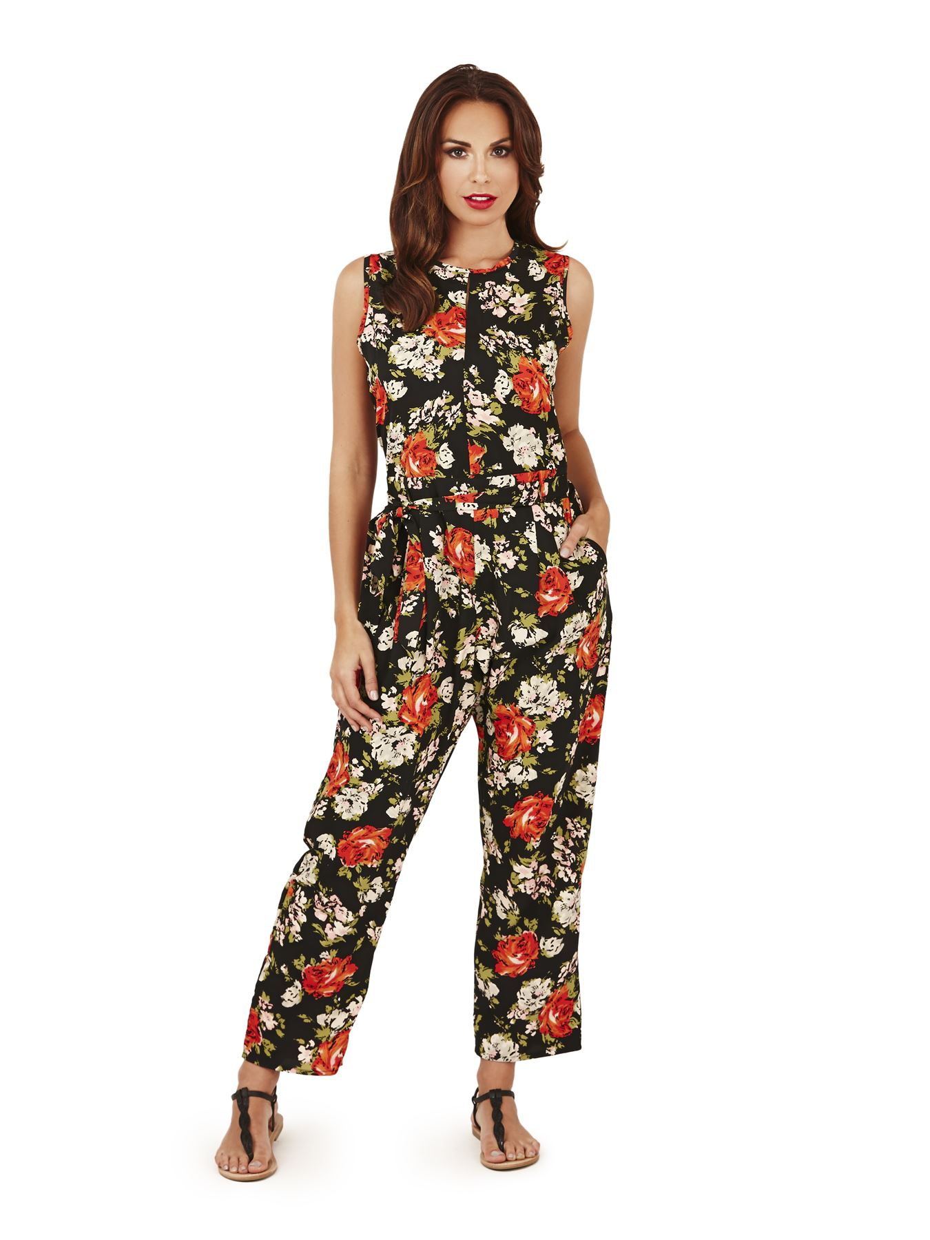 Brilliant Womens Jumpsuit With Sleeves - Trendy Clothes