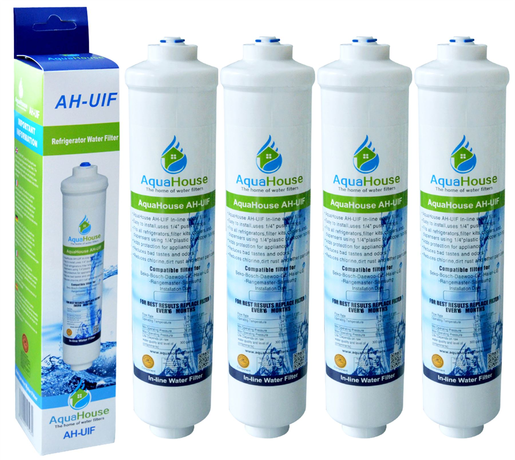 4x water filter for drinking water fountains plumbed in for Water feature filtration