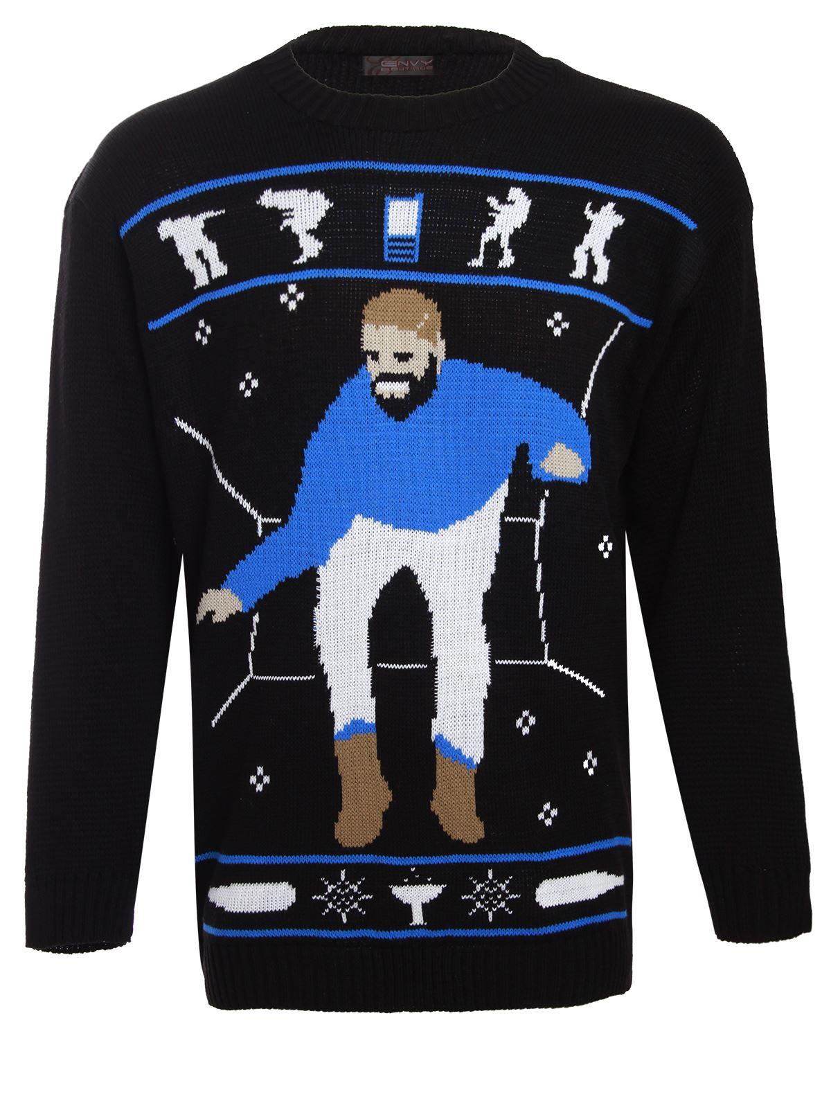 hotline bling drake mens womens unisex christmas jumper gift sweater