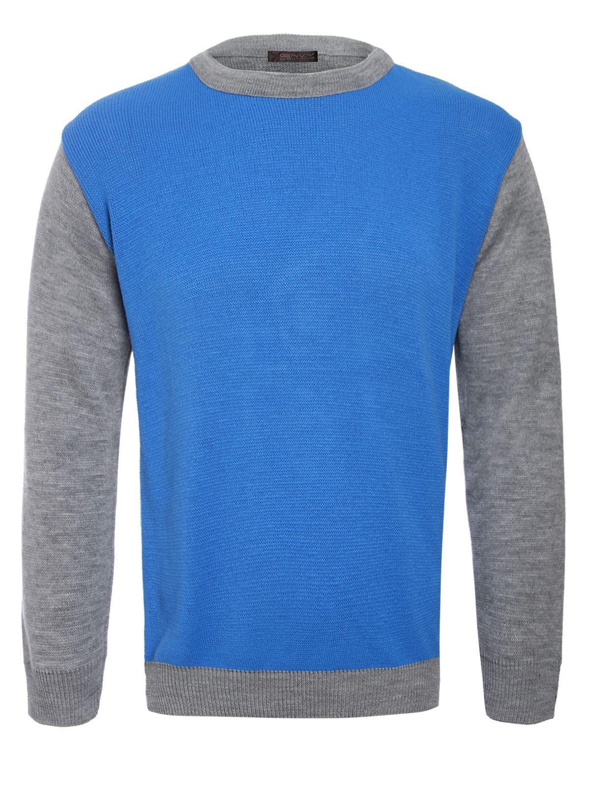 Knitting Pattern Mens Crew Neck Jumper : Mens Basic Crew Neck Knitted Jumper Soft Knit Pullover Sweater