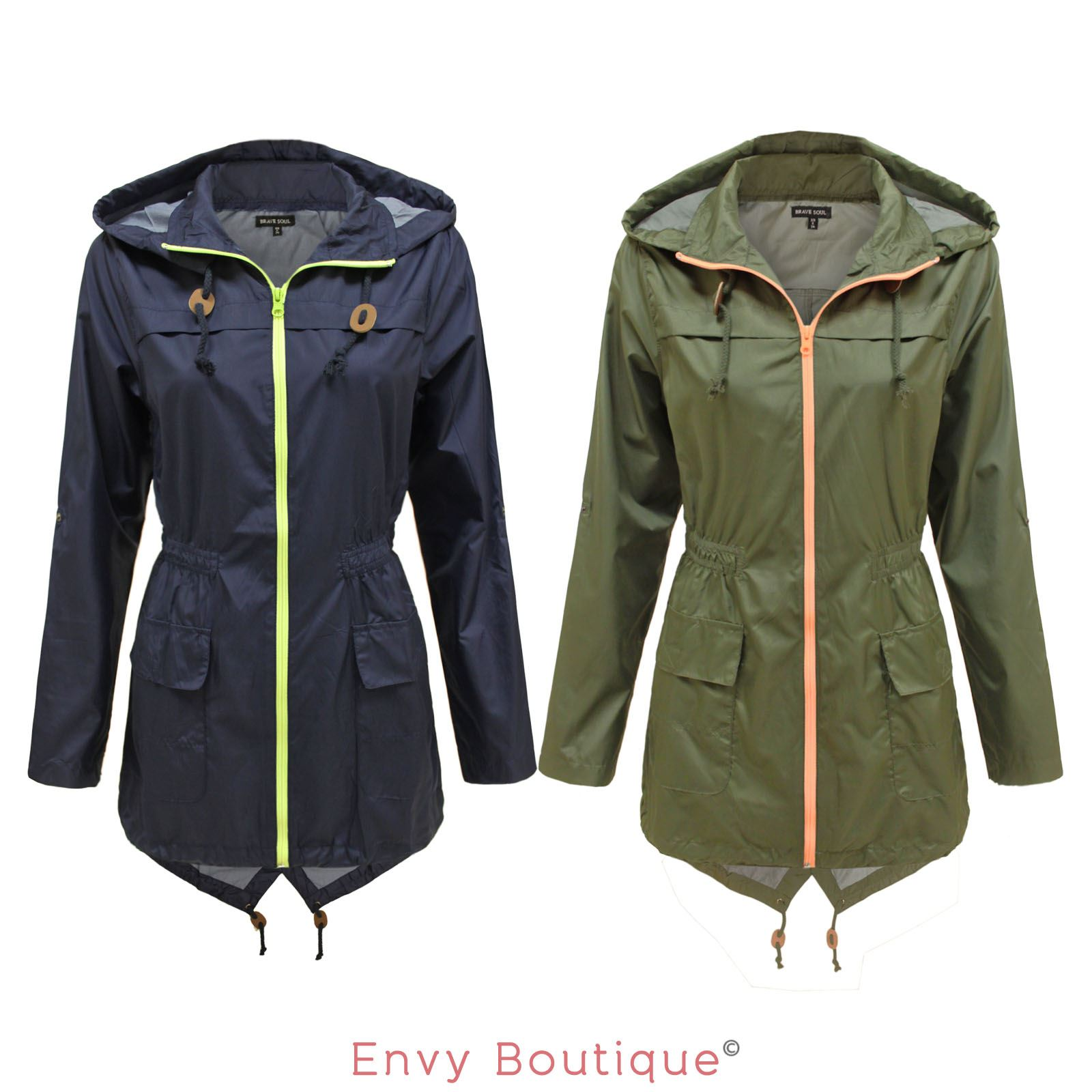 Ladies Cagoule Waterproof Jacket