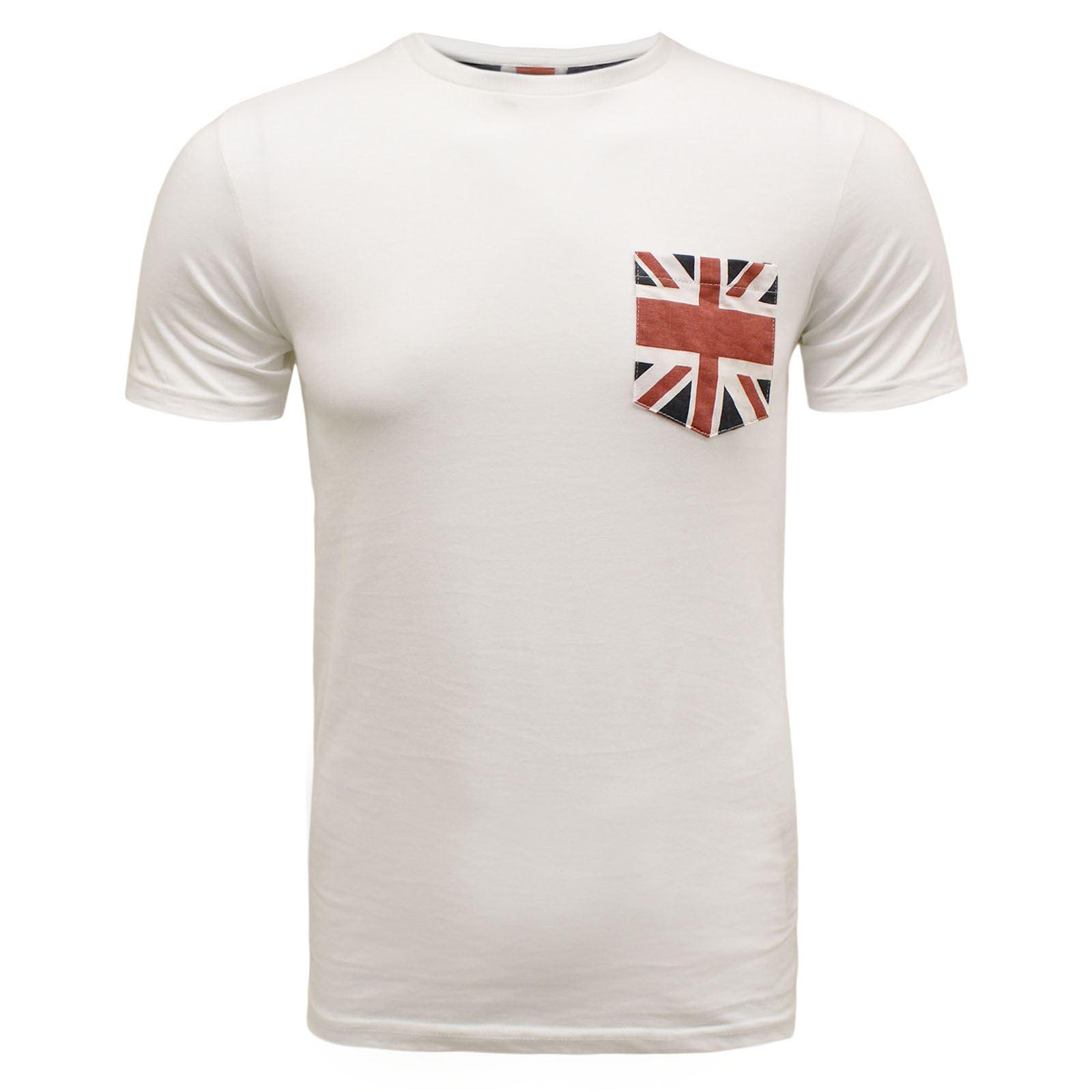 Brave soul mens designer britain usa flag printed union for T shirt printing usa