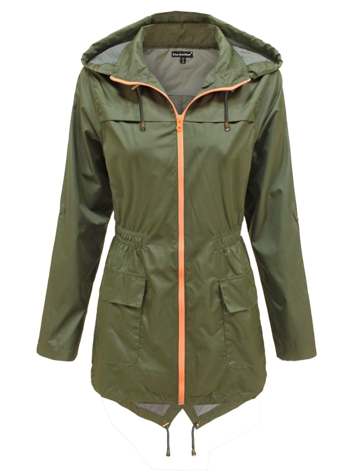 Womens fishtail parka coats