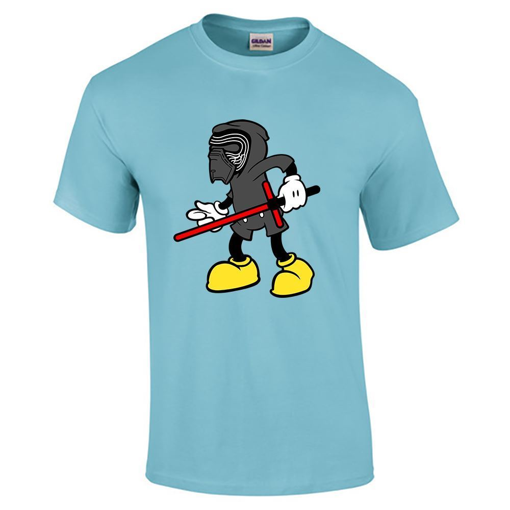 Mens casual crew neck mickey mouse disney gym sport wear for Gym printed t shirts