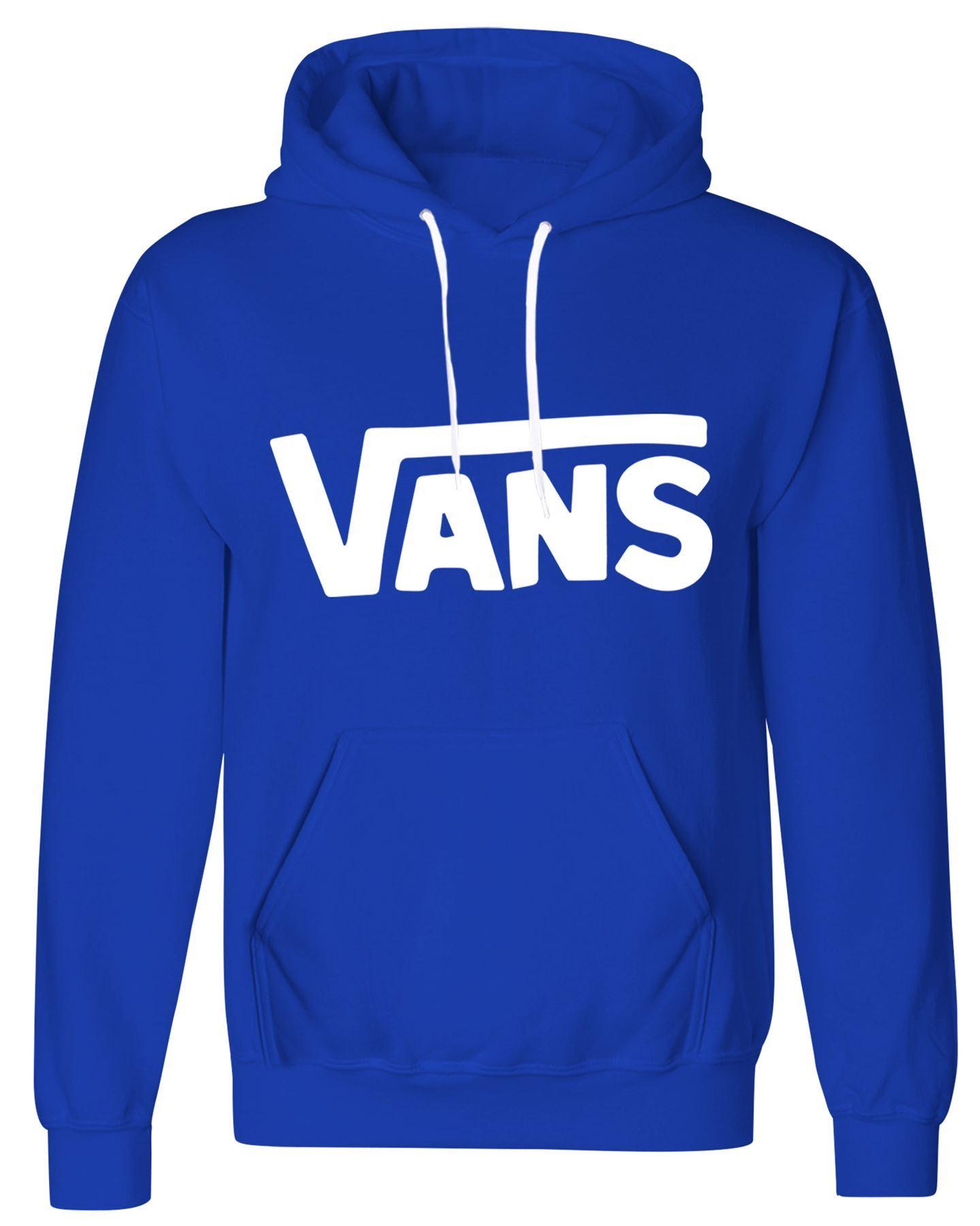 Classic Vans Logo Printed Sweatshirt Mens Womens Vans