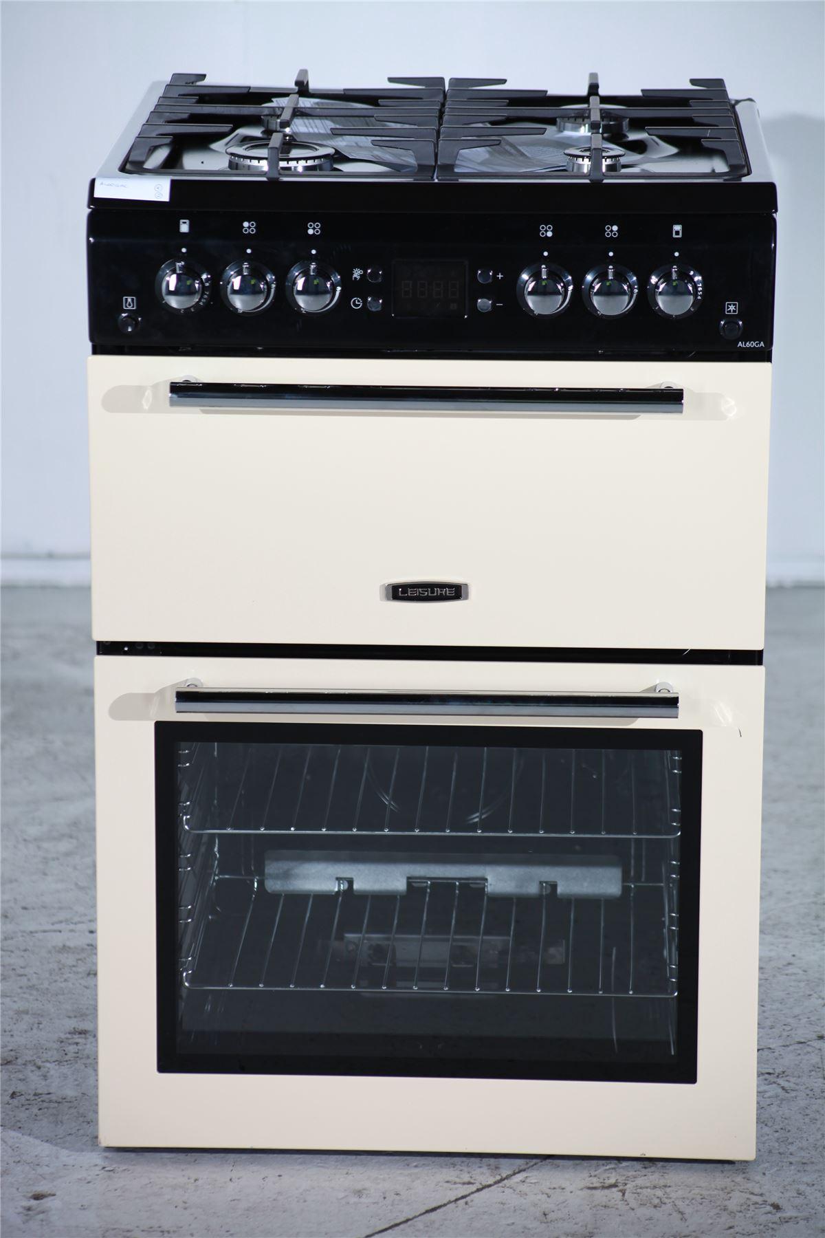 Preloved Leisure Gas Cooker Al60gac Black Amp Cream