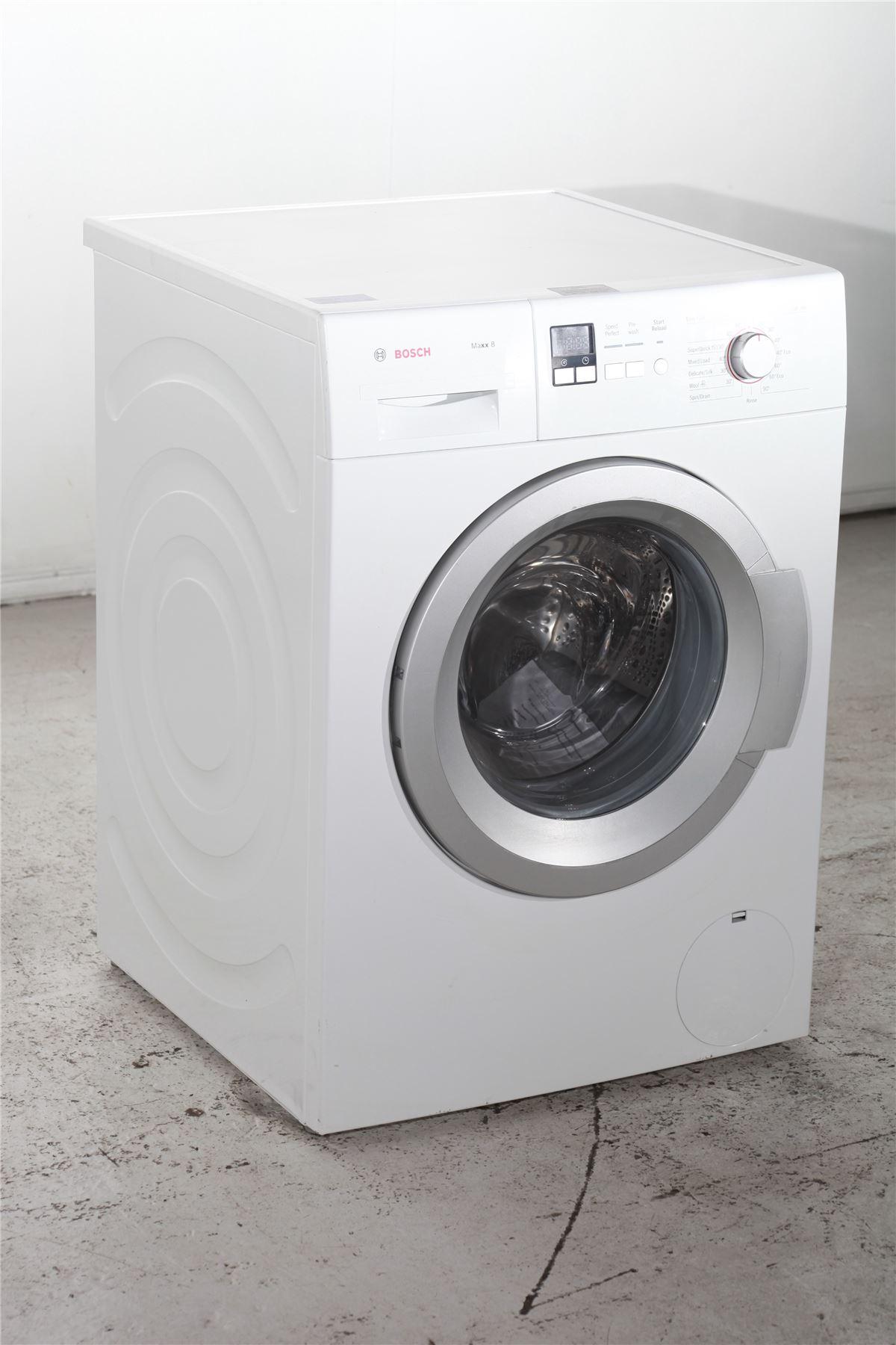 preloved bosch maxx 8 kg washing machine wak28160gb. Black Bedroom Furniture Sets. Home Design Ideas