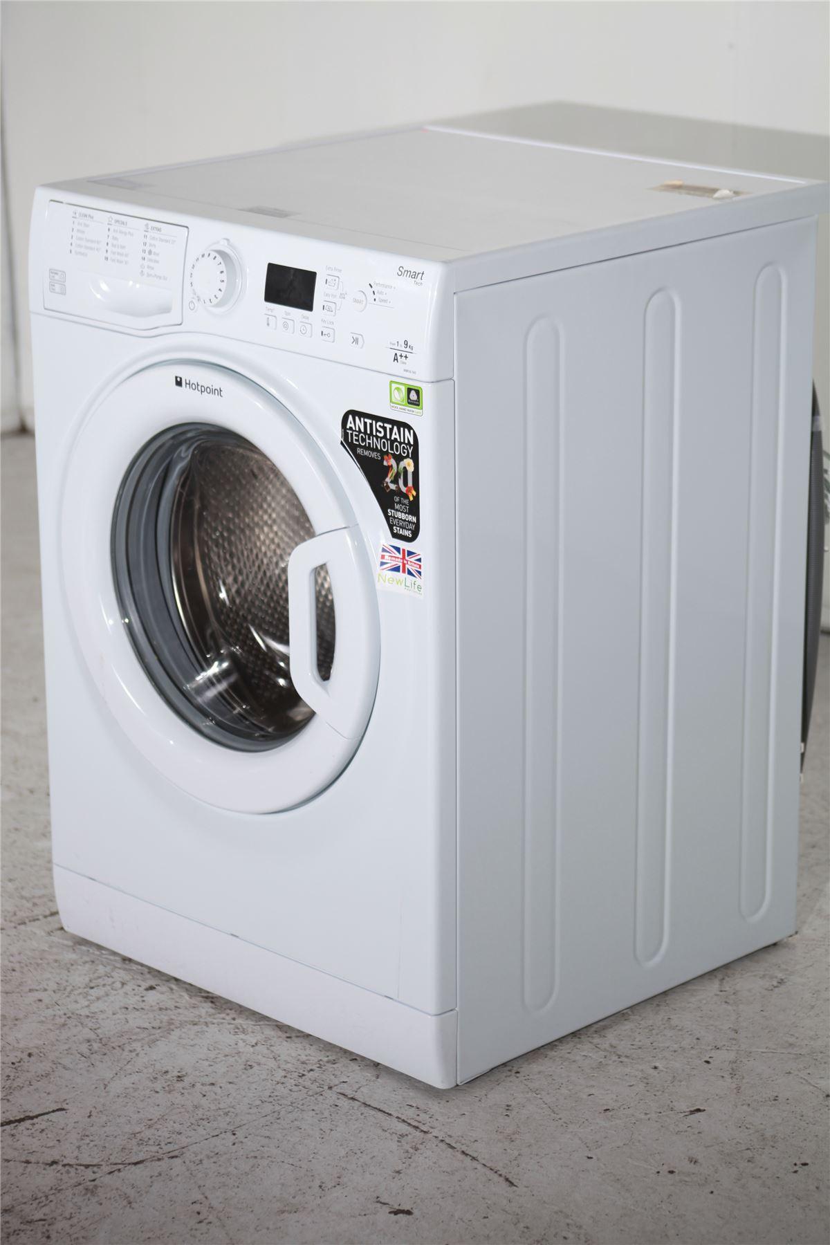 preloved hotpoint 9kg washing machine wmfug942p. Black Bedroom Furniture Sets. Home Design Ideas