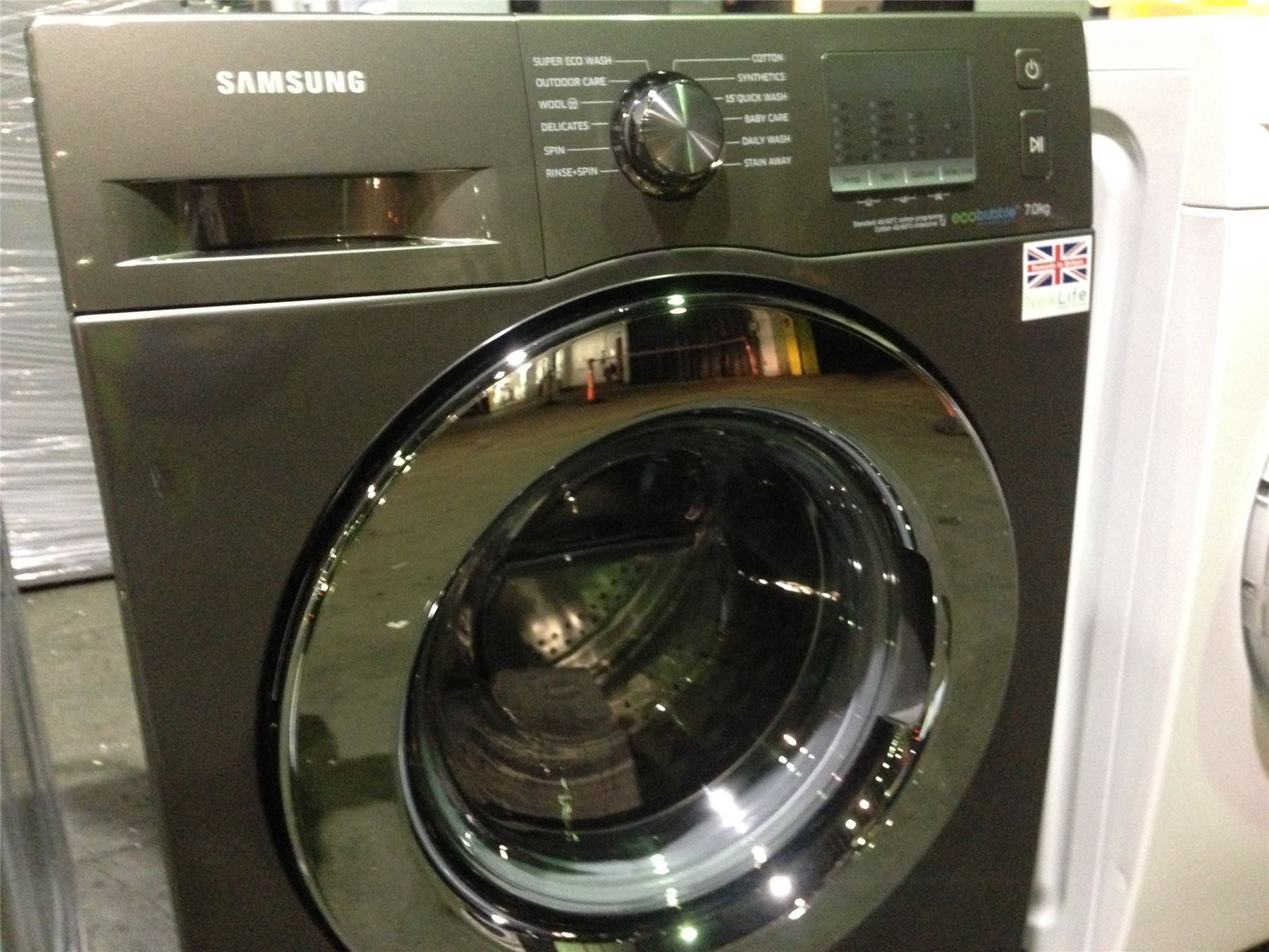 527054 p samsung eco bubble 7kg washing machine. Black Bedroom Furniture Sets. Home Design Ideas