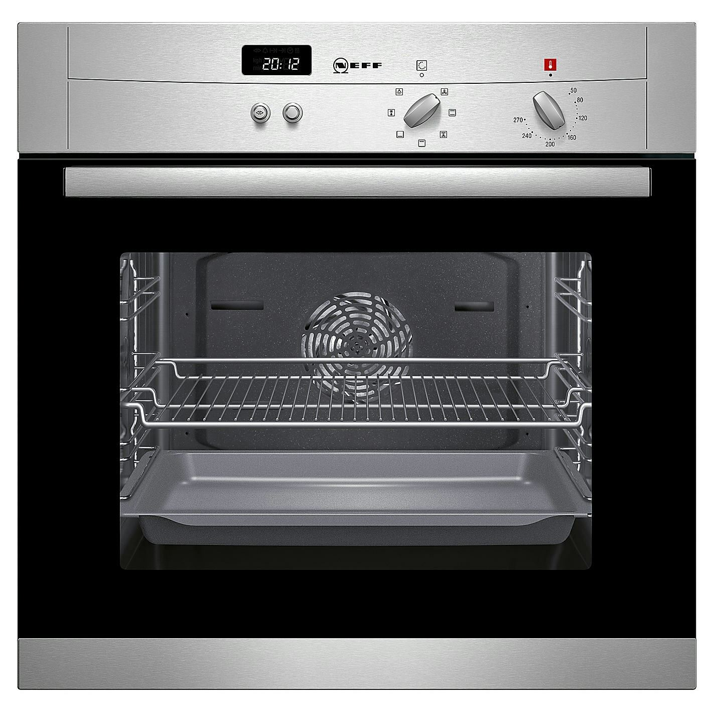 Neff b12s52n3gb single electric oven stainless steel j 3381416 ebay - Neff electric ...