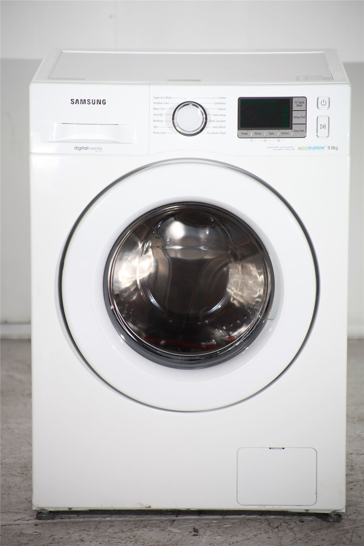 preloved samsung ecobubble 9kg washing machine. Black Bedroom Furniture Sets. Home Design Ideas